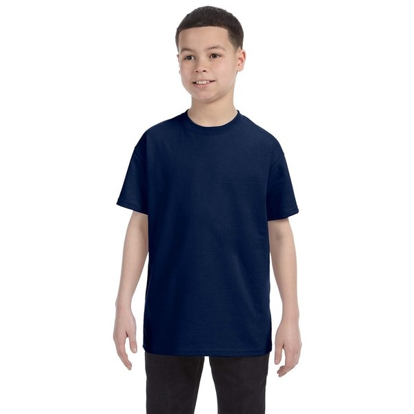 Navy Heavyweight Blend Boys' T-Shirt