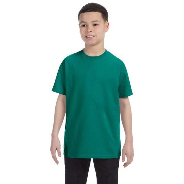 Boys' Heavyweight Blend Jade T-Shirt