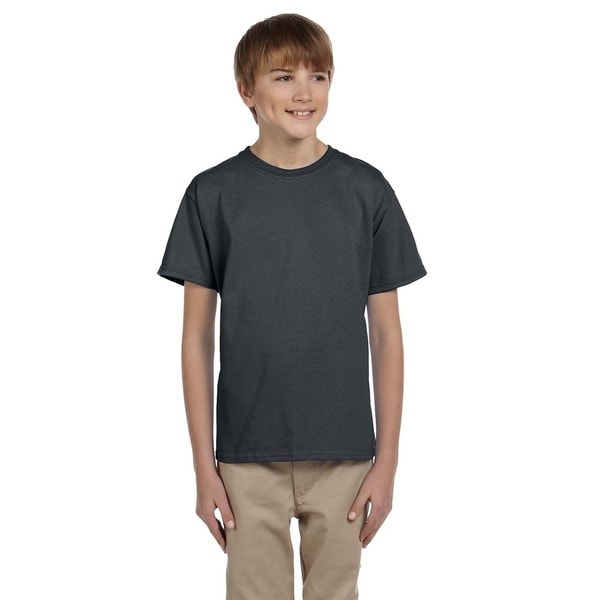 Hidensi-T Charcoal Grey Boys' T-Shirt