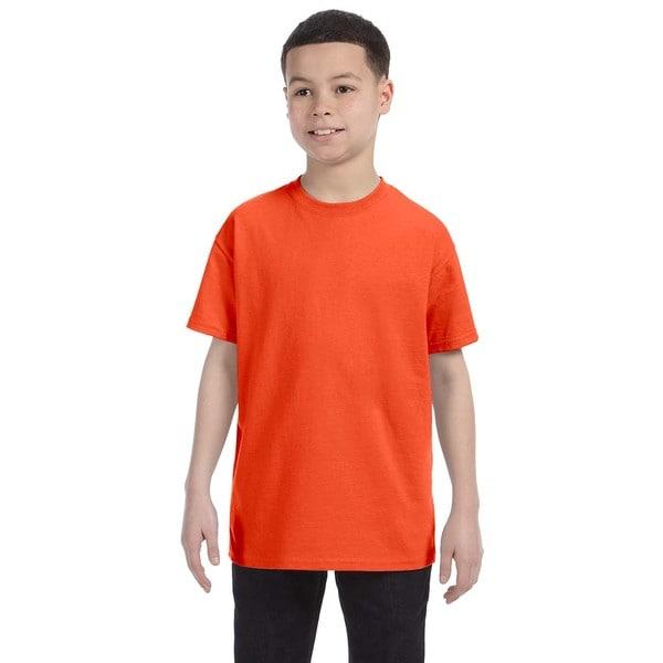 Heavyweight Blend Boys T-shirt Burnt Orange