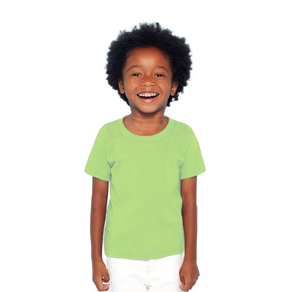 Gildan Mint Green Heavy Cotton Boys' T-shirt