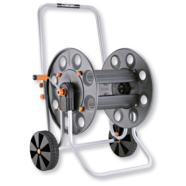 Claber 8894 Metal Gemini Hose Reel Cart