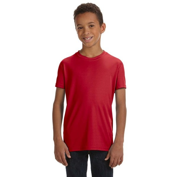 For Team 365 Res Sport Performance Short-Sleeve Boys' T-shirt