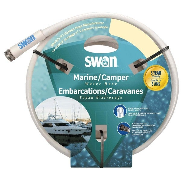 Swan Hose ELMRV12050 1/2 inches x 50 feet Marine & Camper Water Hose