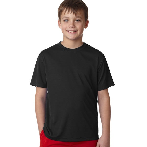 Cool Dri Youth Black T-shirt