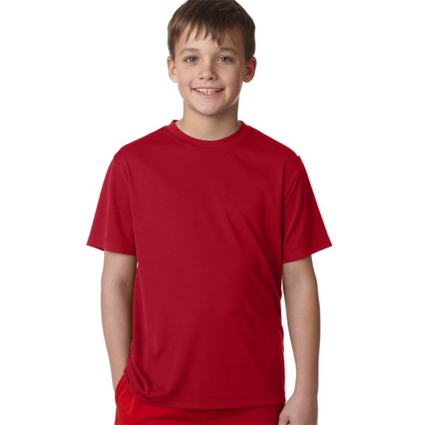 Cool Dri Youth Deep Red T-shirt