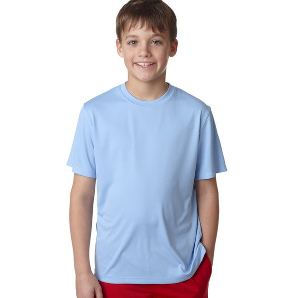 Cool Dri Youth Light Blue T-shirt
