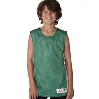 Challenger Boys' Kelly Green/White Reversible Tank