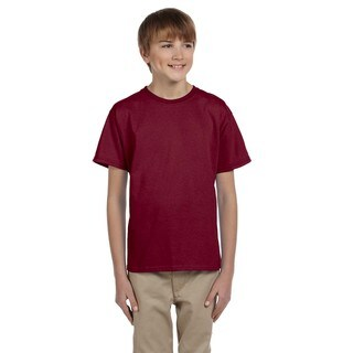 Comfortblend Boys' Ecosmart Cardinal Crewneck T-Shirt