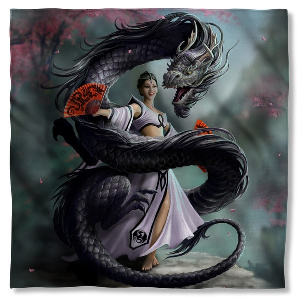 Anne Stokes/Dragon Dancer Polyester Bandana