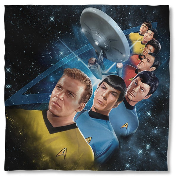 Star Trek/Among The Stars Polyester Bandana