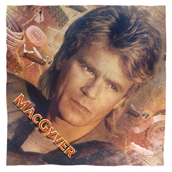 Macgyver/Tools Of The Trade Polyester Bandana
