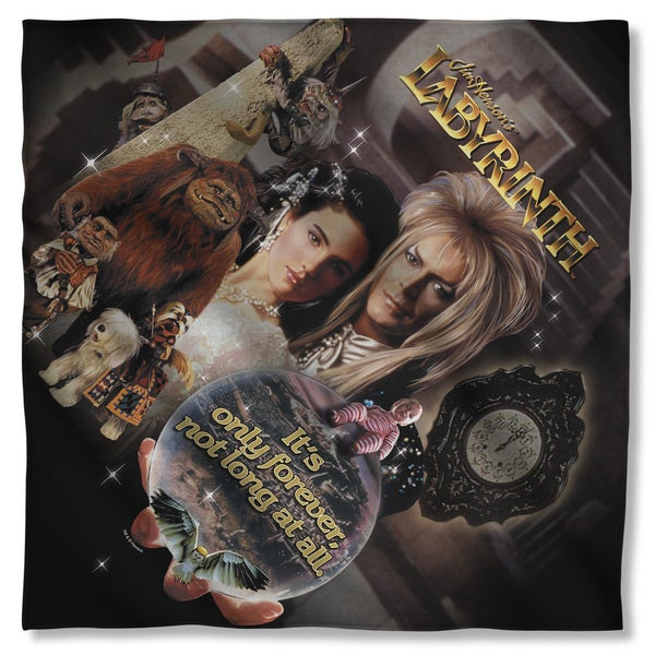 Labyrinth/Only Forever Polyester Bandana