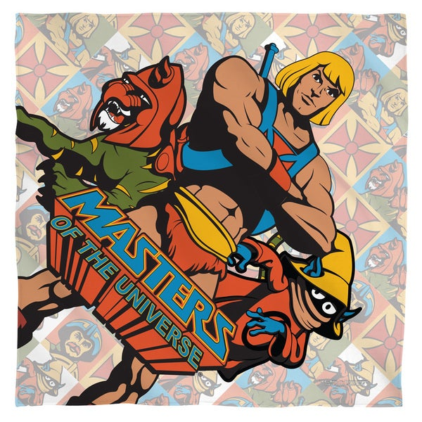 Masters Of The Universe/Heroes Polyester Bandana