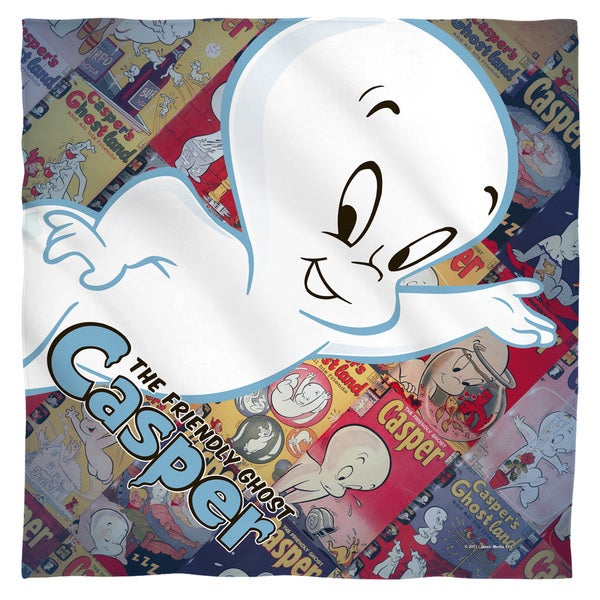 Casper The Friendly Ghost/Casper And Covers Polyester Bandana