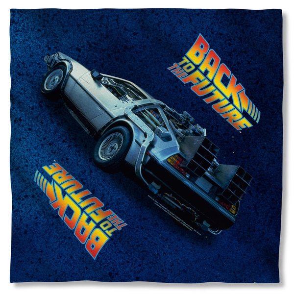 Back To The Future/Delorean Polyester Bandana