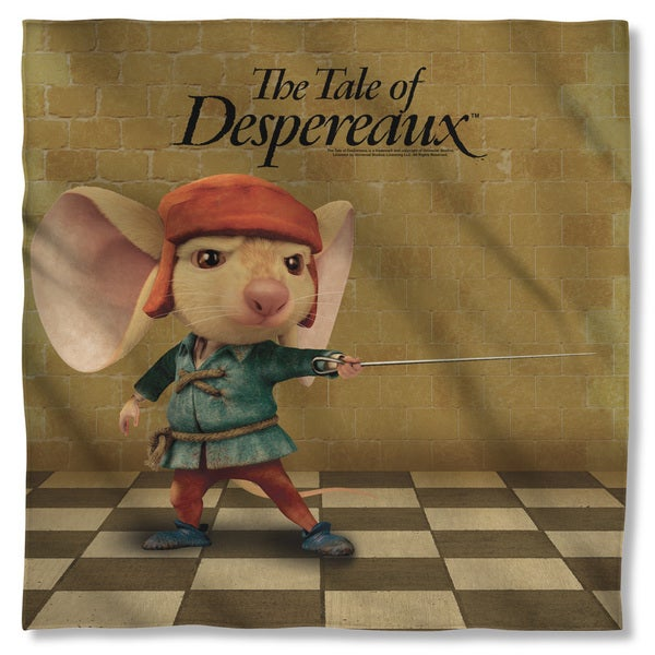 Tale Of Despereaux/On Guard Polyester Bandana