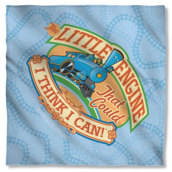 Little Engine That Could/Think I Can Polyester Bandana