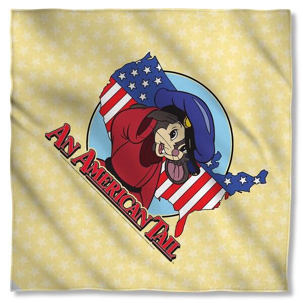 American Tail/Title Polyester Bandana
