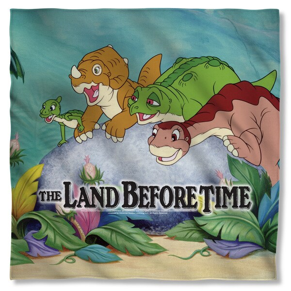 Land Before Time/Littlefoot & Friends Polyester Bandana