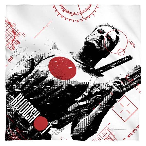 Bloodshot/Take Aim Polyester Bandana