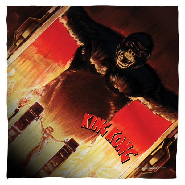 King Kong/At The Gates Polyester Bandana