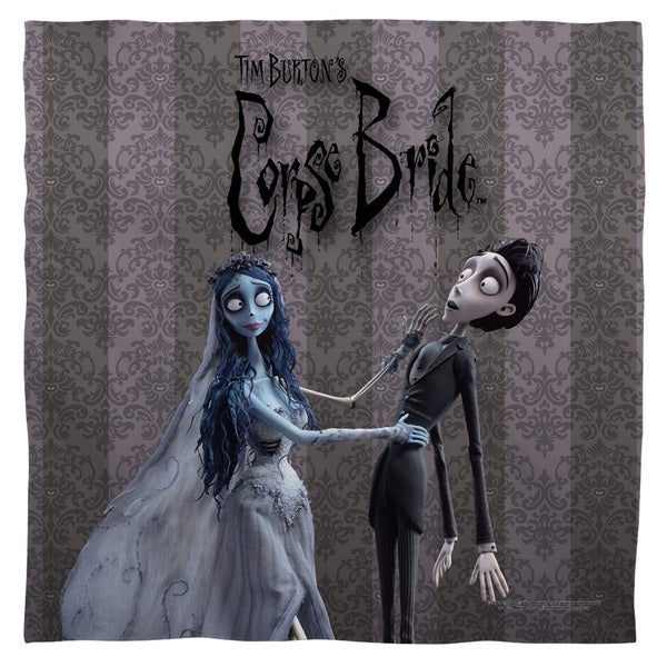Corpse Bride/Bride And Groom Polyester Bandana