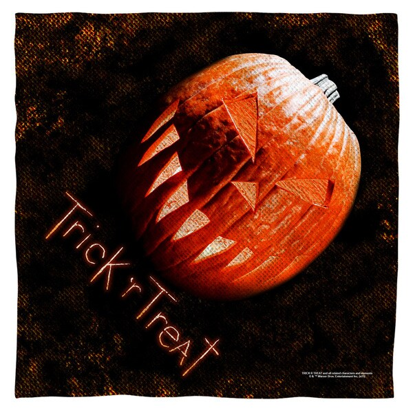 Trick R Treat/Pumpkin Polyester Bandana
