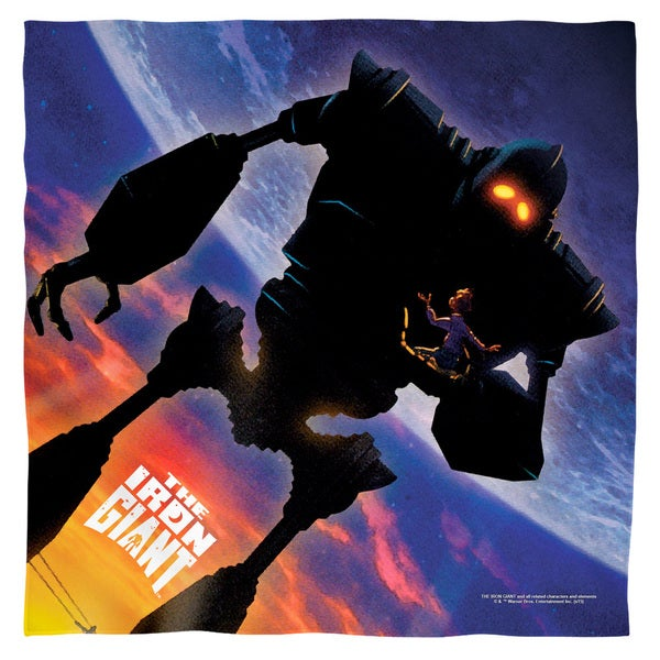 Iron Giant/Poster Polyester Bandana