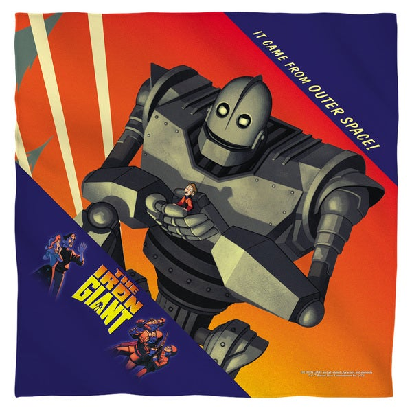 Iron Giant/It Came From Space Polyester Bandana
