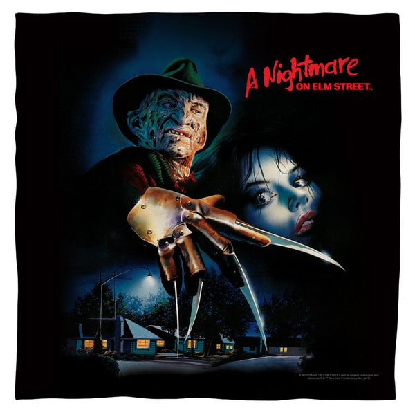 Nightmare On Elm Street/Freddy Poster Polyester Bandana
