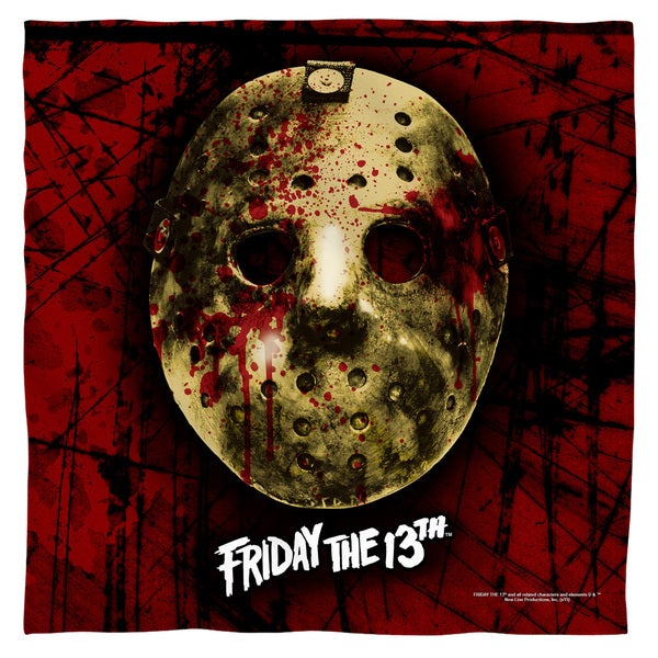 Friday The 13Th/Bloody Mask Polyester Bandana