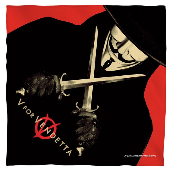 V For Vendetta/V Polyester Bandana