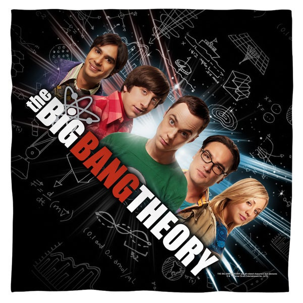 Big Bang Theory/Group Spark Polyester Bandana