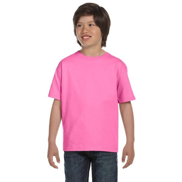 Beefy-T Boys' T-Shirt Pink