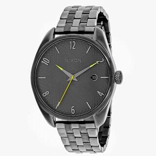 Nixon Women's A418-2090 Bullet Round Grey dial Stainsless steel Bracelet Watch