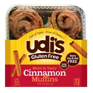 Udi's Gluten-Free 14-ounce Cinnamon Rolls (2 Pack)