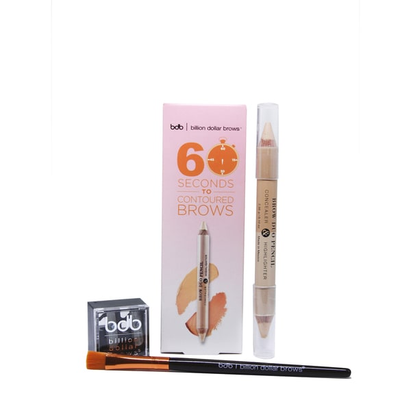 Billion Dollar Brows 3-piece 60 Seconds to Contoured Brows