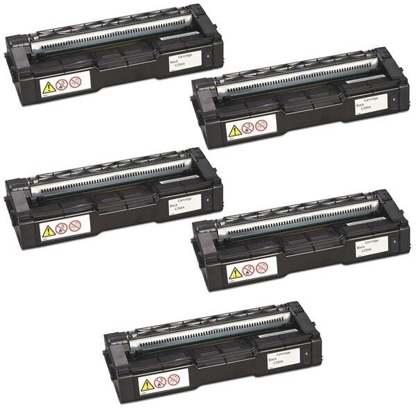 5PK Compatible 407539 Toner Cartridge For Ricoh SP C250DN , SP C250SF , Aficio SP C250DN , SP C250SF ( Pack of 5 )