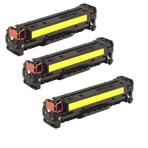3PK Compatible CE342A Toner Cartridge For HP Color LaserJet MFP M775dn MFP M775f ( Pack of 3 )
