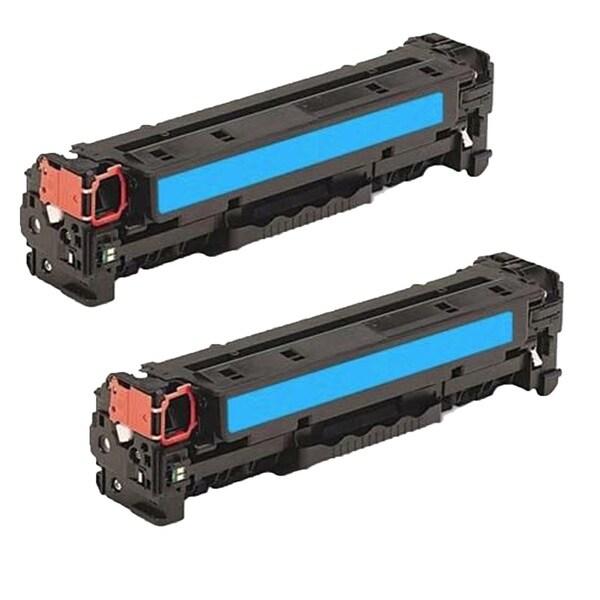 2PK Compatible CE341A Toner Cartridge For HP Color LaserJet MFP M775dn MFP M775f ( Pack of 2 )