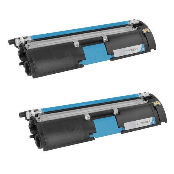 2PK Compatible QMS 2500 C Toner Cartridge For Konica Minolta QMS Color Magicolor 2500W , 2530DL , 2550 ( Pack of 2 )