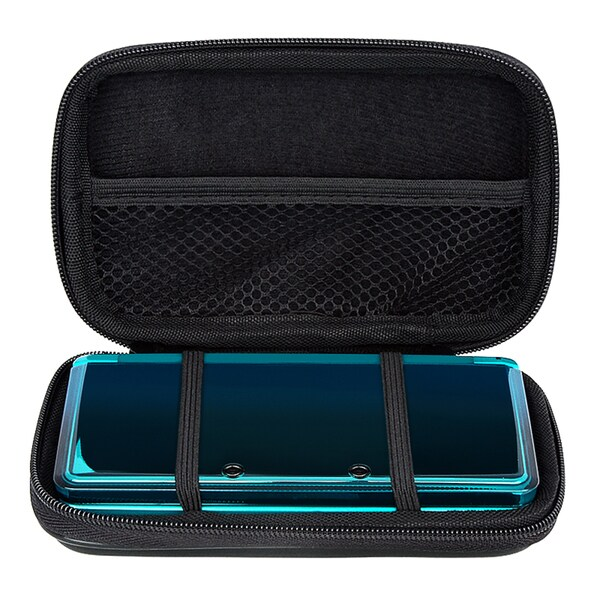 INSTEN Black Lite Eva Case Cover for Nintendo 3DS/ NDS (As Is Item)
