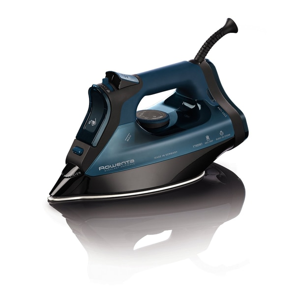 Rowenta DW7180 Everlast 1750-Watt Anti-Calc Steam Iron Stainless Steel Soleplate with Auto-Off