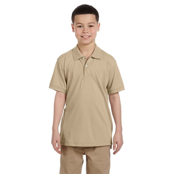 Boys' Stone Easy Blend Polo Shirt