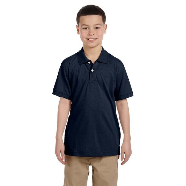 Easy Blend Boys' Navy Polo Shirt