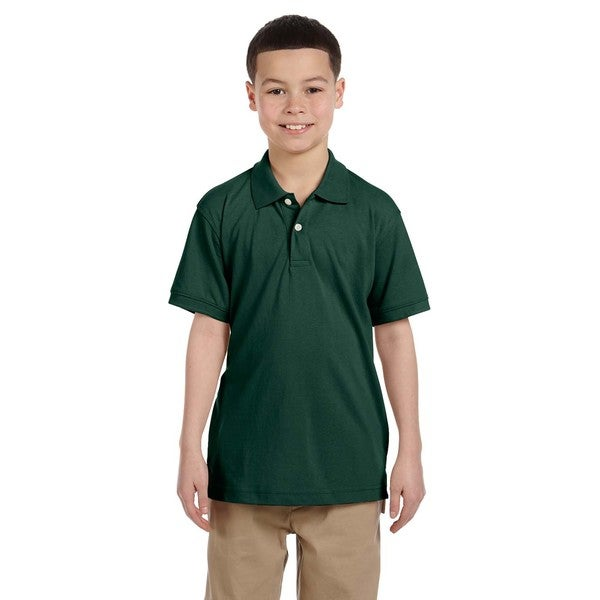 Boys' Easy Blend Hunter Polo Shirt