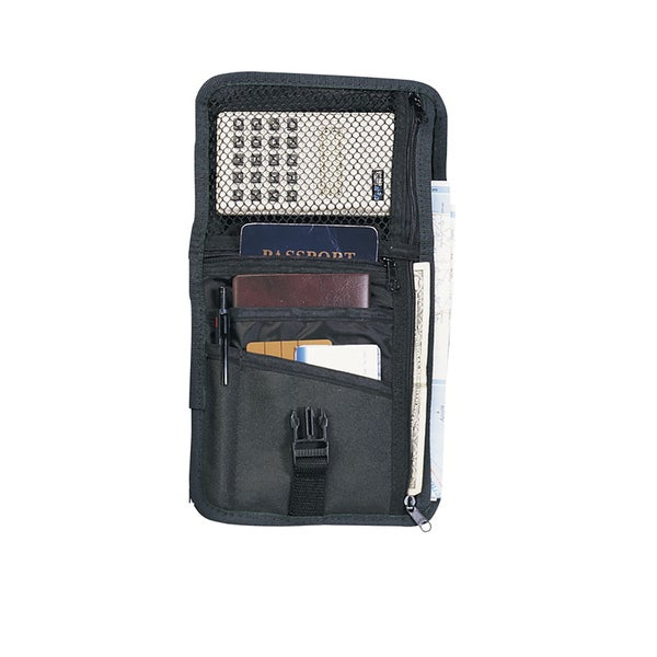Goodhope Black 600D Polyester Travel Pouch