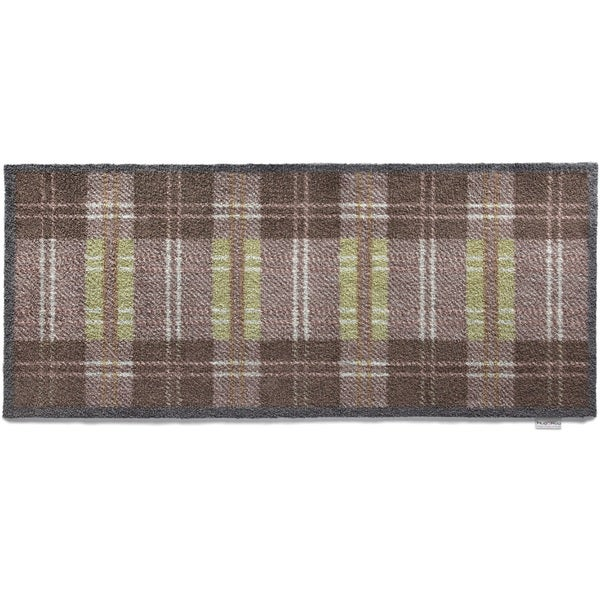 Hug Rug Eco-friendly Dirt Trapper Dugdale Tartan Washable Runner Rug (2' x 5')