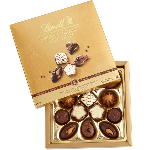 Lindt 4.9-ounce Swiss Luxury Selection